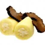 Gnocchi con ricotta e tartufo