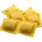 Quadrelli con gorgonzola dolce